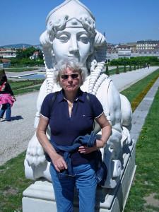 2008 Wien, Belvedere: Auf dem Weg zu Klimt und Schiele Foto: privat